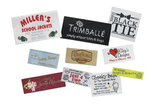 Low minimum custom woven apparel labels