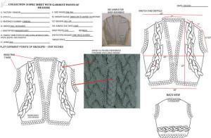 Sweater Tech Pack Sample