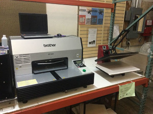 Brother Direct to Garment Printer Seattle