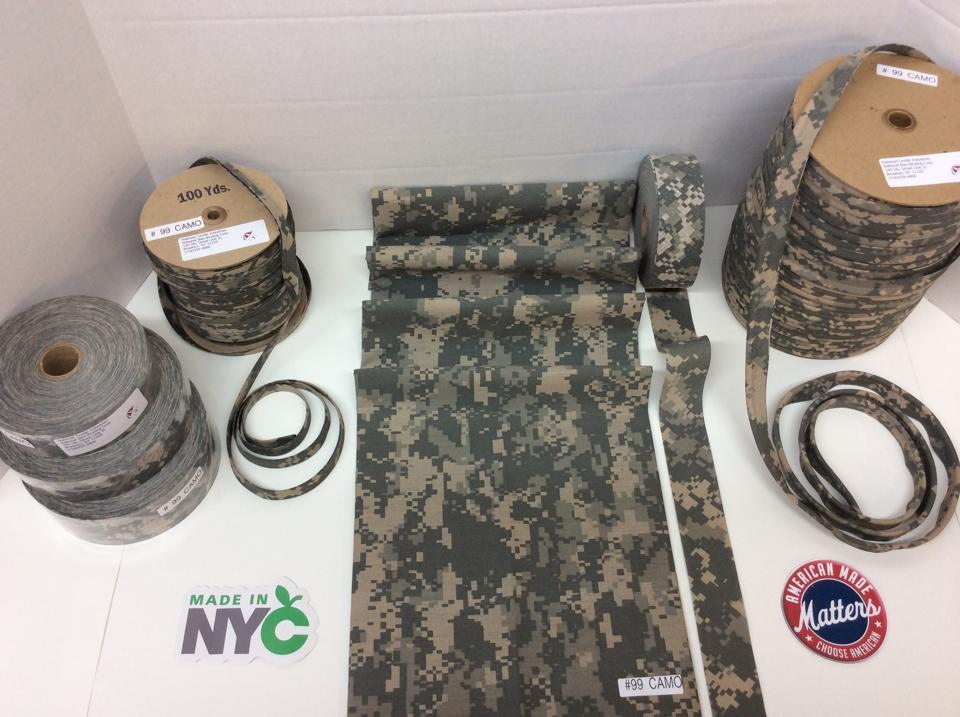 MADE IN USA ACU CAMOFLAGE FABRIC